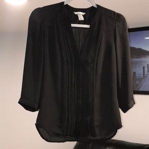 H&M black blouse, size 2